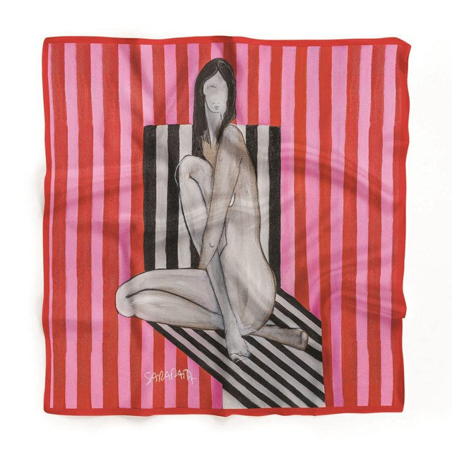 do salonu artysty Joanna Sarapata pod tytułem Jedwabna chusta - Scent of Woman II
