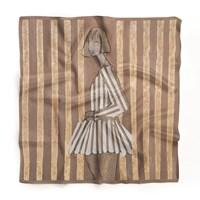 do salonu artysty Joanna Sarapata pod tytułem Jedwabna chusta - Scent of Woman III