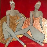 Obraz do salonu artysty Joanna Sarapata pod tytułem Conversation