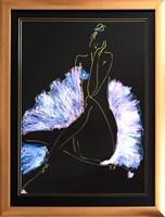 Obraz do salonu artysty Joanna Sarapata pod tytułem Akt kobiecy 1