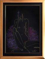 Obraz do salonu artysty Joanna Sarapata pod tytułem Akt kobiecy 4