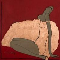 Obraz do salonu artysty Joanna Sarapata pod tytułem Czerwona