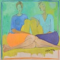 Obraz do salonu artysty Joanna Sarapata pod tytułem Rozmowa