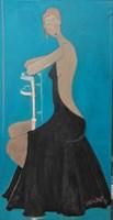 Obraz do salonu artysty Joanna Sarapata pod tytułem Siedząca