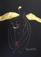 Obraz do salonu artysty Joanna Sarapata pod tytułem Z cyklu: Anioły też są zmęczone 1