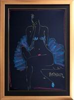 Obraz do salonu artysty Joanna Sarapata pod tytułem Akt - szkic 5