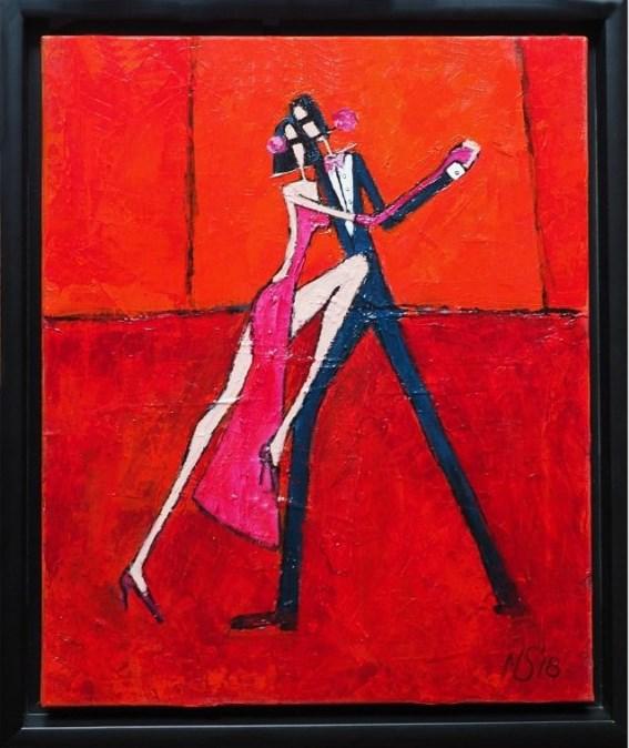 Obraz do salonu artysty Małgorzata Stępniak pod tytułem Tango
