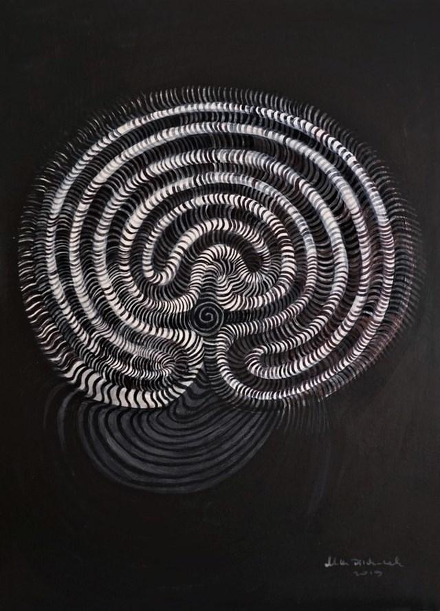 Obraz do salonu artysty Katarzyna Dietrych-Kuzak pod tytułem Labirynt No1