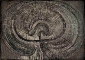 Obraz do salonu artysty Katarzyna Dietrych-Kuzak pod tytułem Labirynt
