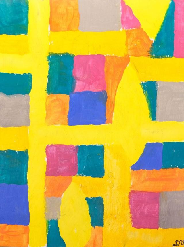 Obraz do salonu artysty Piotr Młodożeniec pod tytułem Abstrakcja 21