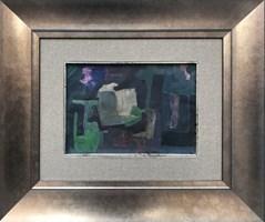 Obraz do salonu artysty Stanisław Młodożeniec pod tytułem Dark interior