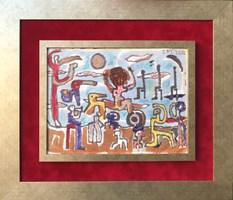 Obraz do salonu artysty Stanisław Młodożeniec pod tytułem Bez tytułu