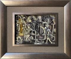 Obraz do salonu artysty Stanisław Młodożeniec pod tytułem Wariacja 1