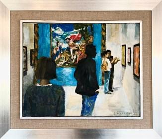 Obraz do salonu artysty Stanisław Młodożeniec pod tytułem Whitney