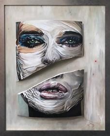 Obraz do salonu artysty Andrzej Sajewski pod tytułem Rozdarta dusza