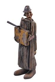 Rzeźba do salonu artysty Piotr Woroniec pod tytułem Z cyklu Kantor