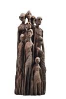 Rzeźba do salonu artysty Piotr Woroniec pod tytułem Grupa