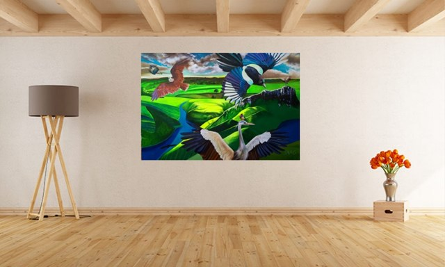 Gaia - visualisation by Anna Malinowska