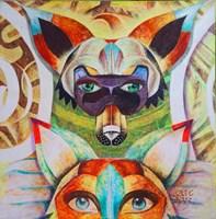 Obraz do salonu artysty Anna  Malinowska pod tytułem Strażnik Polnych Dróg