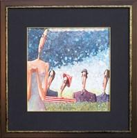 Obraz do salonu artysty Jarosław  Luteracki pod tytułem Co w trawie piszczy