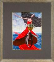 Obraz do salonu artysty Jarosław  Luteracki pod tytułem W skrzydłach wiatr