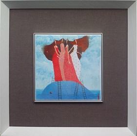 Grafika do salonu artysty Jarosław Luteracki pod tytułem Kafel I