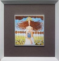 Grafika do salonu artysty Jarosław  Luteracki pod tytułem Kafel II