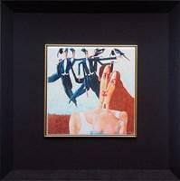 Living room print by Jarosław  Luteracki titled Tile XI
