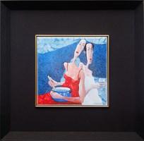 Grafika do salonu artysty Jarosław  Luteracki pod tytułem Kafel XIII