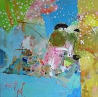 Obraz do salonu artysty Nina Rostkowska pod tytułem Świadomy sen