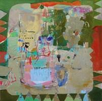 Obraz do salonu artysty Nina Rostkowska pod tytułem Pięć