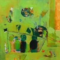 Obraz do salonu artysty Nina Rostkowska pod tytułem Sałatka z pokrzywy