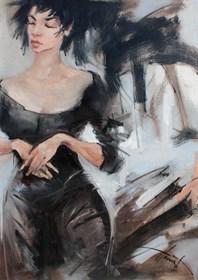 Obraz do salonu artysty Henadzy Havartsou pod tytułem May be