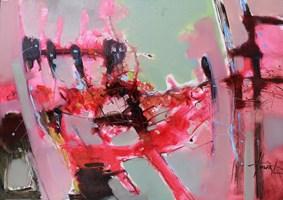 Obraz do salonu artysty Henadzy Havartsou pod tytułem PinkFloyd