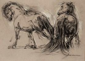 Obraz do salonu artysty Malgorzata Abramowicz pod tytułem Konie 1