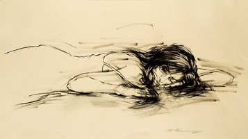 Obraz do salonu artysty Małgorzata Abramowicz pod tytułem Kobieta 6