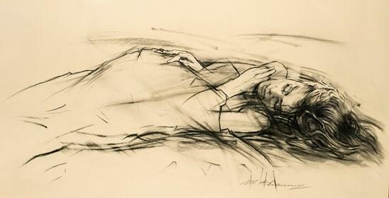 Obraz do salonu artysty Małgorzata Abramowicz pod tytułem Kobieta 5