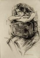 Obraz do salonu artysty Malgorzata Abramowicz pod tytułem Kobieta 4