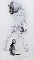 Obraz do salonu artysty Małgorzata Abramowicz pod tytułem Kobieta 1