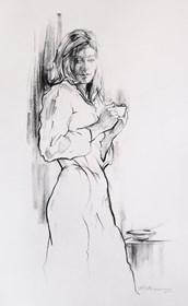 Obraz do salonu artysty Małgorzata Abramowicz pod tytułem Kobieta 2