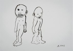 Obraz do salonu artysty Sylwester Ambroziak pod tytułem Bez tytułu