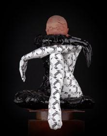 Rzeźba do salonu artysty Marek Zyga pod tytułem I Miss you