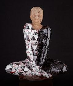 Rzeźba do salonu artysty Marek Zyga pod tytułem I will be waiting