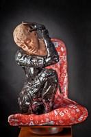 Rzeźba do salonu artysty Marek Zyga pod tytułem Nie jesteś sama