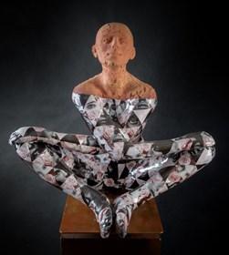 Rzeźba do salonu artysty Marek Zyga pod tytułem Bang,Bang