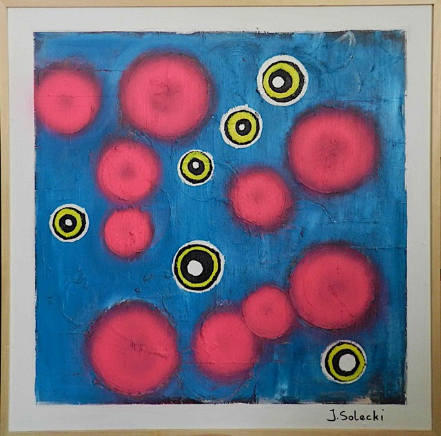 Obraz do salonu artysty Jerzy Solecki pod tytułem Colorclimax