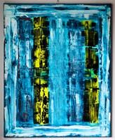 Obraz do salonu artysty Jerzy  Solecki pod tytułem Bezradność w trybie RGB