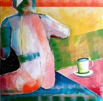 Obraz do salonu artysty Mirosław Nowiński pod tytułem Nawet kawa nie smakuje po sobotniej nocy