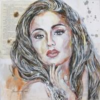 Obraz do salonu artysty Jolanta Frankiewicz pod tytułem Iwa