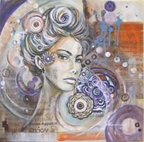 Obraz do salonu artysty Jolanta Frankiewicz pod tytułem Czarodziejka